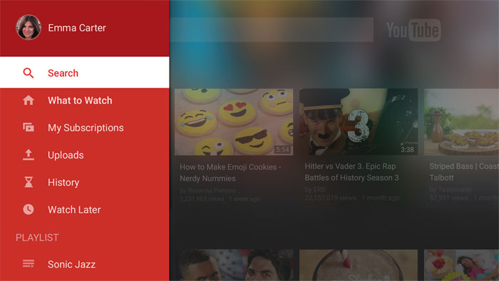 Youtube приложение для телевизора скачать