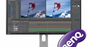 В России открылись продажи мониторов BenQ для профессиональной обработки видео