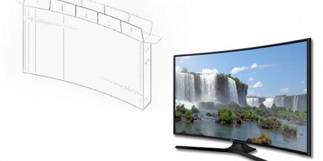Samsung «изобрела» коробку для телевизора с изогнутым экраном
