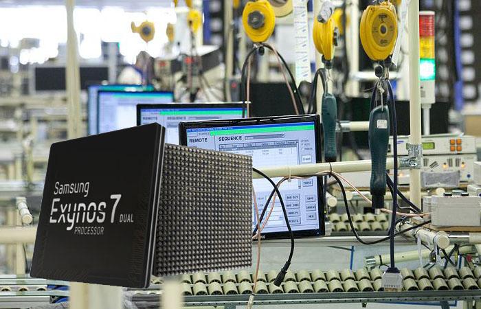 Samsung приступила к производству нового Exynos 7