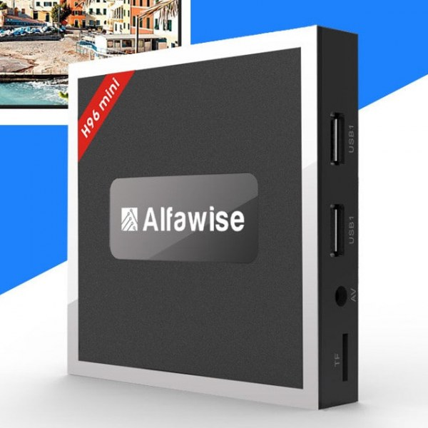 Новинка: TV Box Alfawise H96 Mini на базе процессора Amlogic T962E