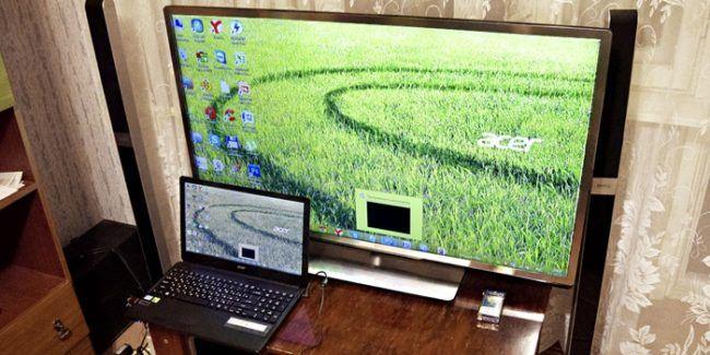 Как подключить телевизор к ноутбуку по Wi-Fi